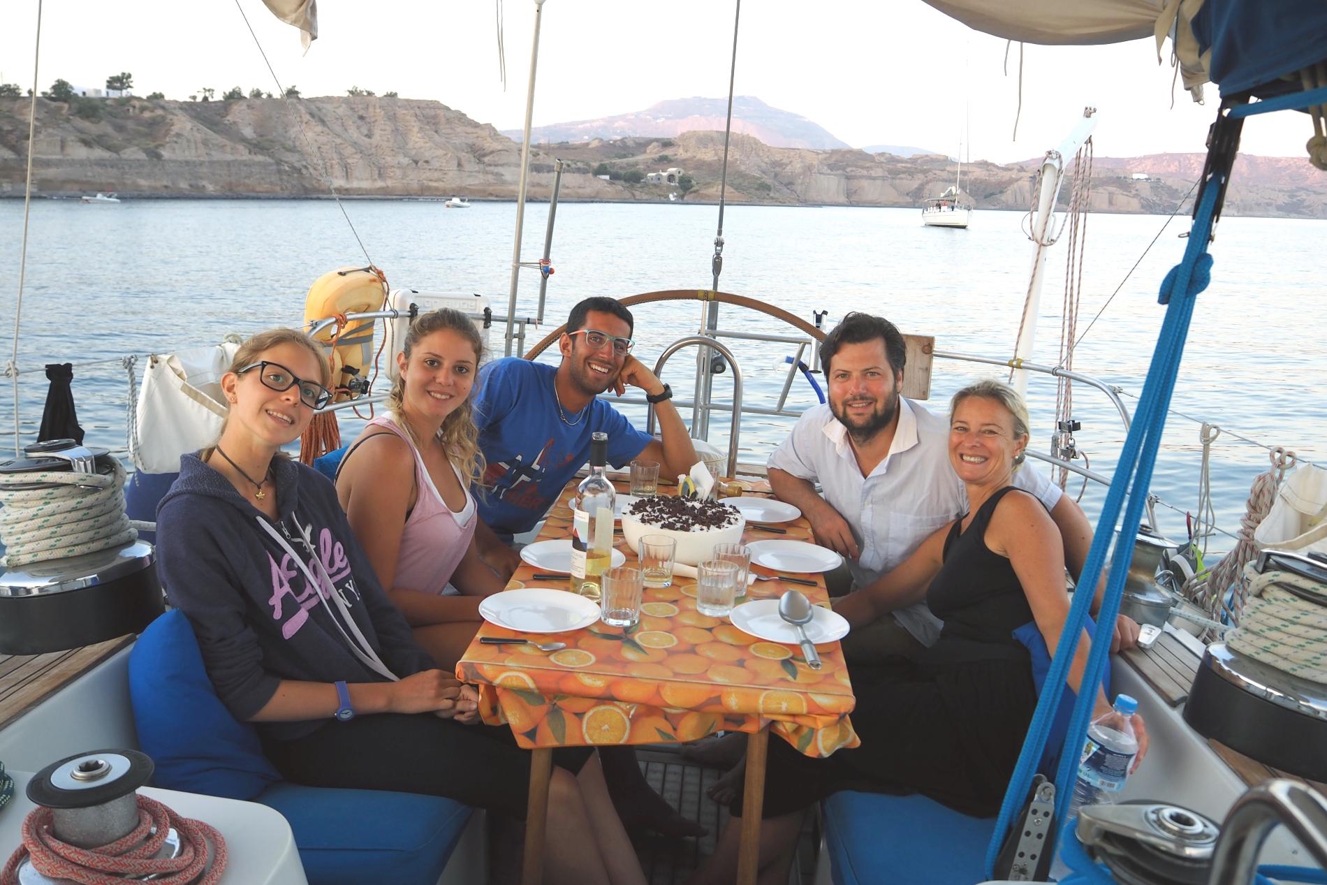 Crociera a vela nelle Cicladi Centro Ovest