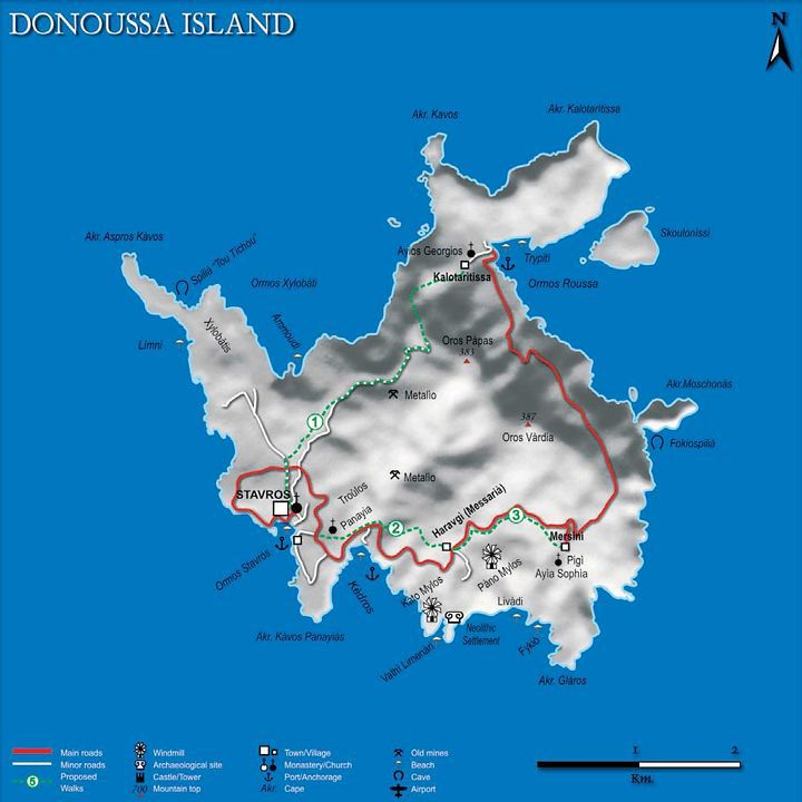 donoussa-map