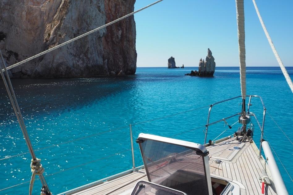Cicladi in barca a vela