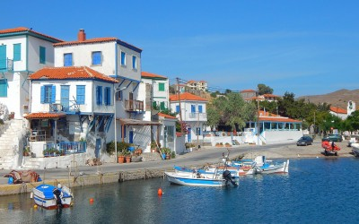 North East Aegean cruise: from Limnos and Aghios Efstratios to Lesbos