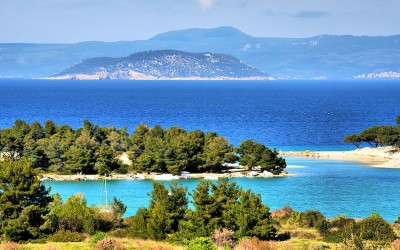 Cruise from the Chalkidiki peninsula to Kavala
